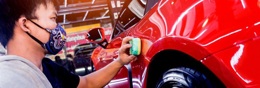 Protection céramique voiture